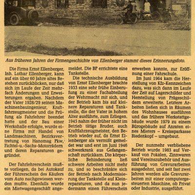 Ellenberger Biedenkopf 1928