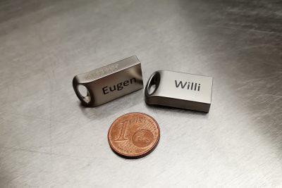 USB-Stick mit Gravur