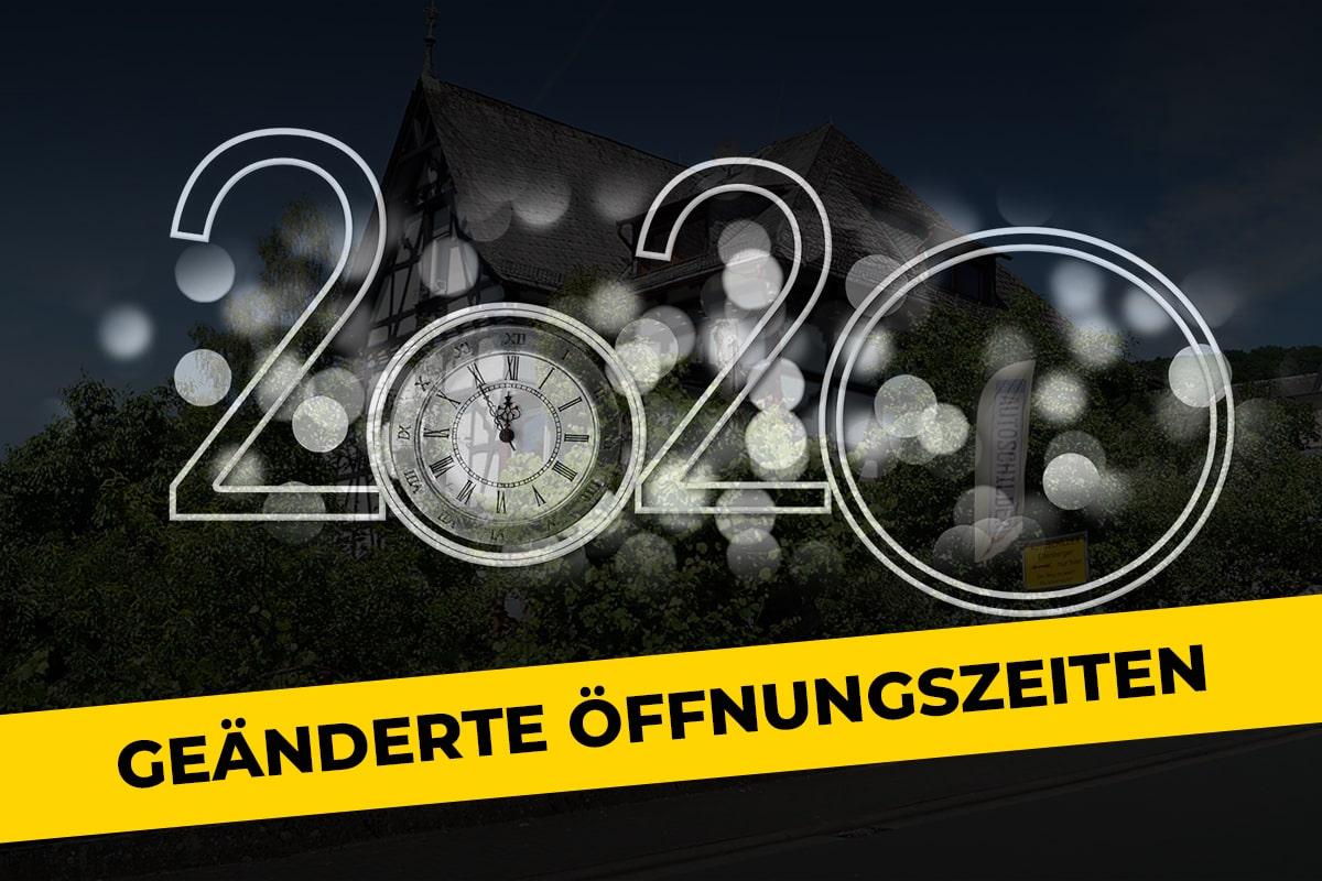 Geänderte Öffnungszeiten 2020 Ellenberger Zulassungsstelle Biedenkopf