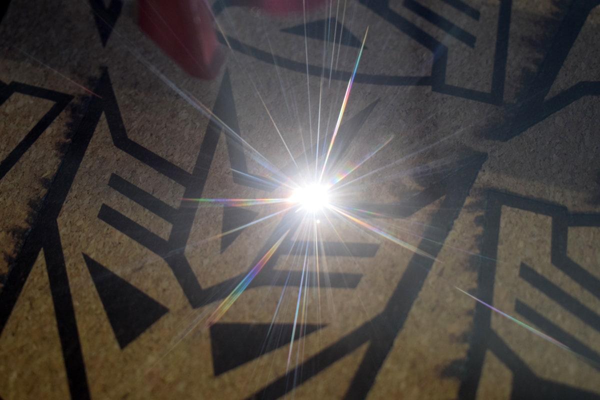 Laserschneiden und Lasergravieren - Kork