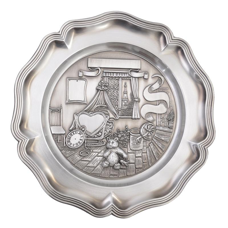 Ellenberger Metallteller Zinnteller 1163