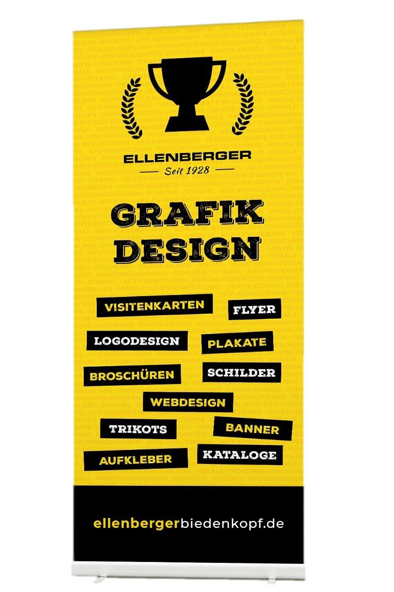 Grafikdesign und Druckprodukte bestellen