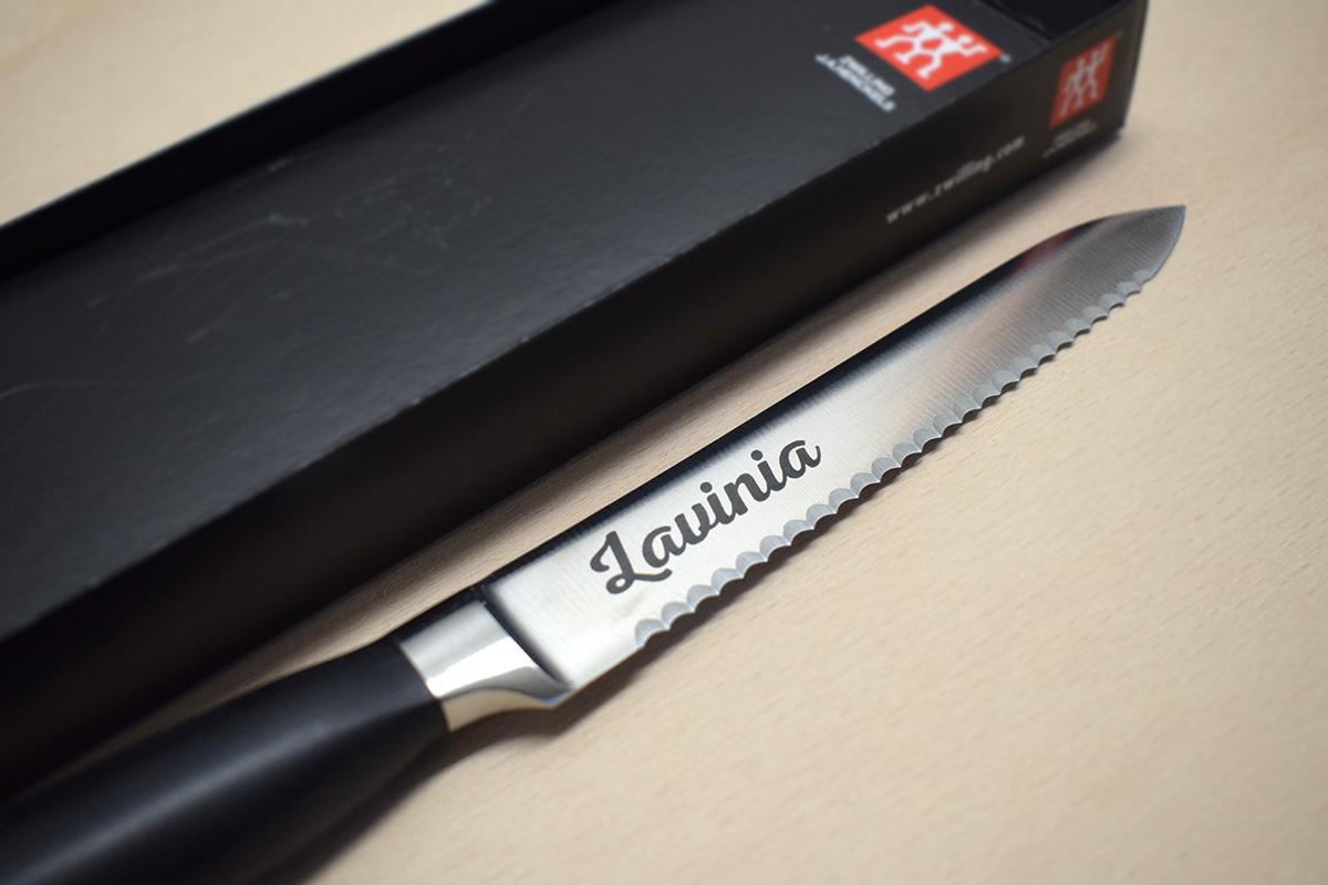 Zwilling Messer gravieren