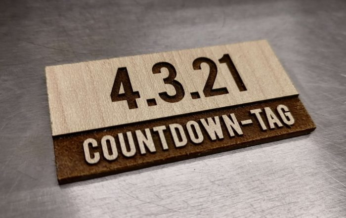 Countdown-Tag 4321