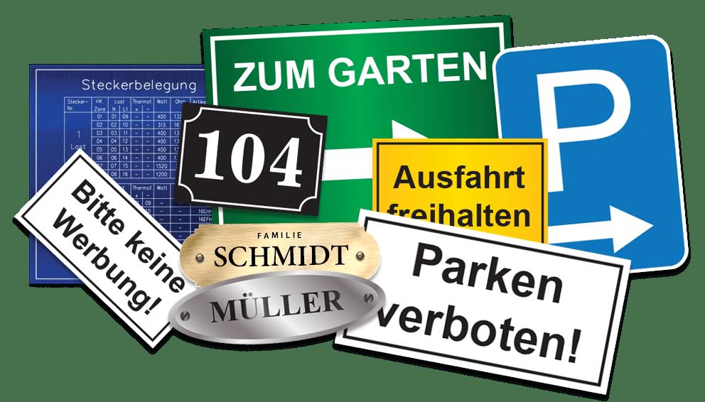 Schilder bestellen Ellenberger Biedenkopf